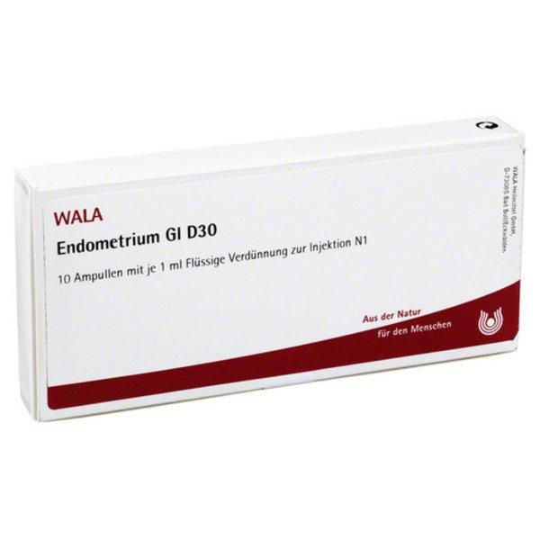 ENDOMETRIUM GL D 30 Ampullen 10X1 ml