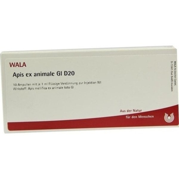 APIS EX animale GL D 20 Ampullen 10X1 ml
