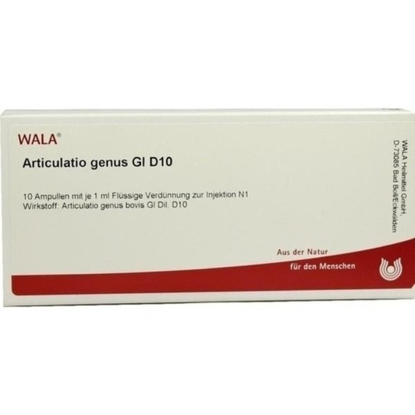 ARTICULATIO genus GL D 10 Ampullen 10X1 ml