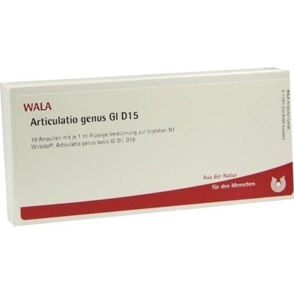ARTICULATIO genus GL D 15 Ampullen 10X1 ml