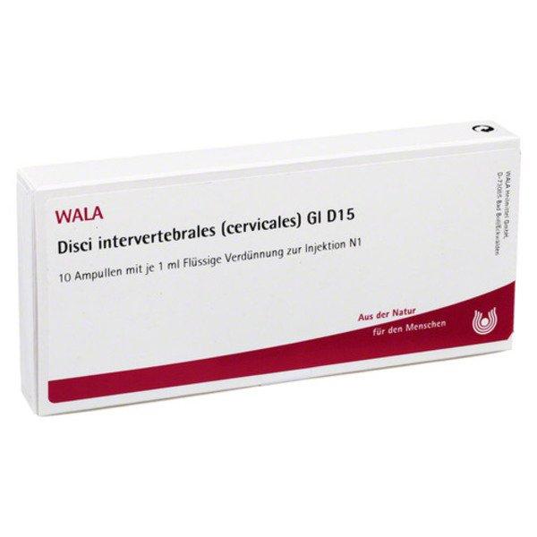 DISCI intervertebrales cervicales GL D 15 Ampullen 10X1 ml