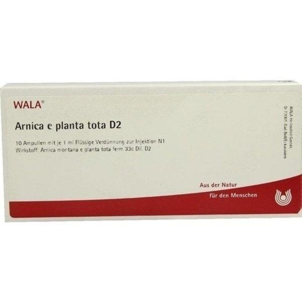 ARNICA E Planta tota D 2 Ampullen 10X1 ml