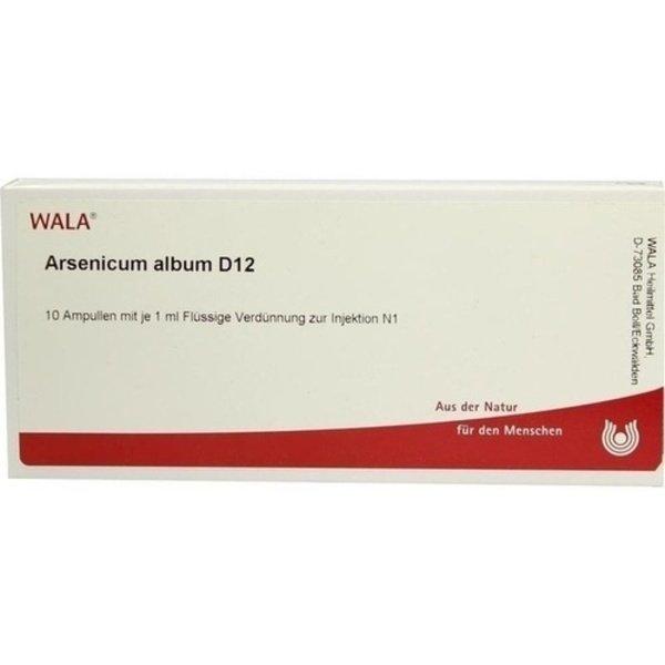 ARSENICUM ALBUM D 12 Ampullen 10X1 ml