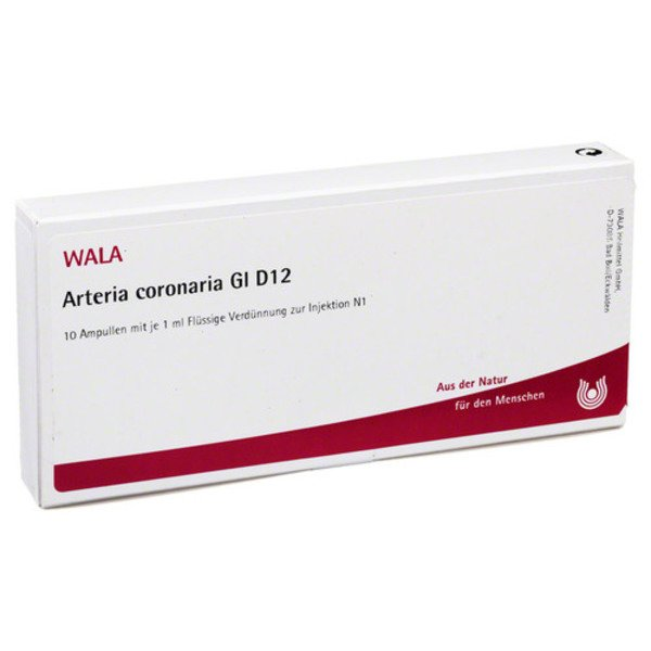 ARTERIA CORONARIA GL D 12 Ampullen 10X1 ml
