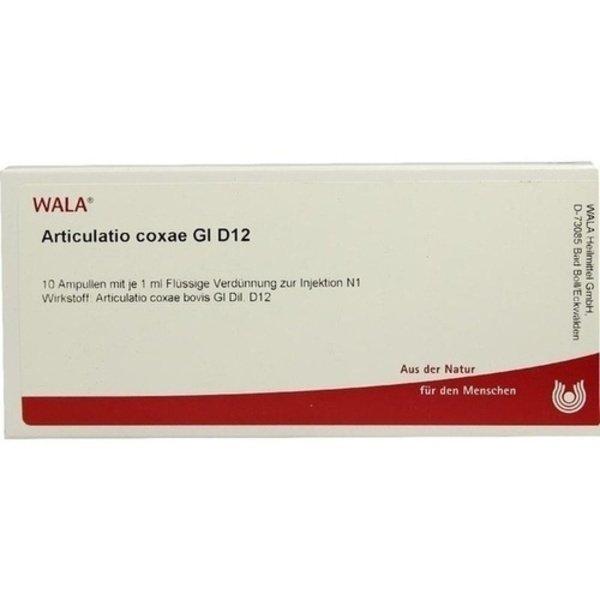 ARTICULATIO coxae GL D 12 Ampullen 10X1 ml