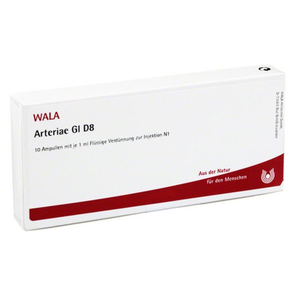 ARTERIAE GL D 8 Ampullen 10X1 ml