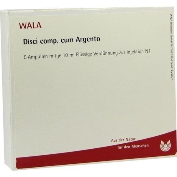 DISCI comp.cum Argento Ampullen 5X10 ml