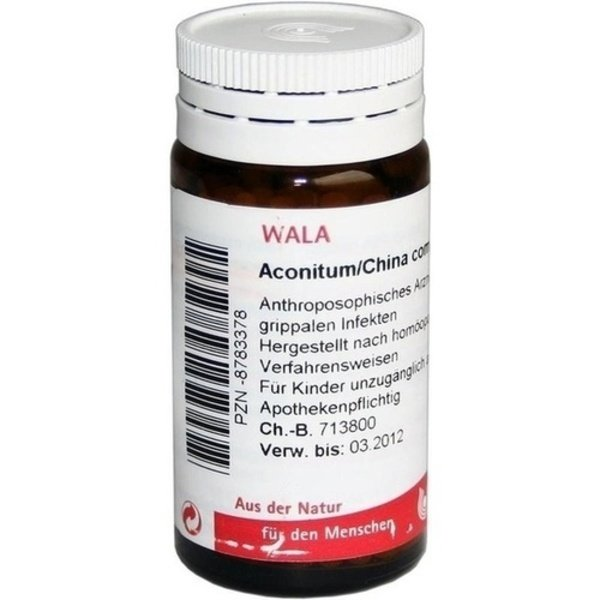 ACONITUM/CHINA comp.Globuli 20 g