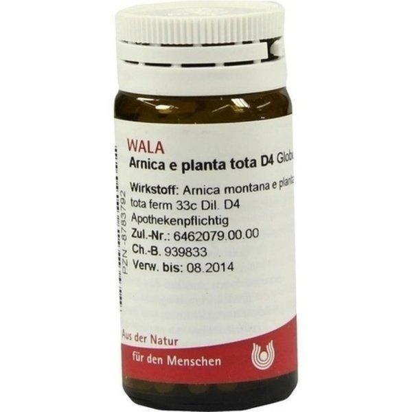ARNICA E Planta tota D 4 Globuli 20 g