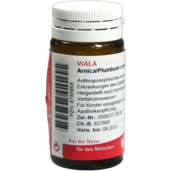 ARNICA/PLUMBUM comp.A Globuli 20 g