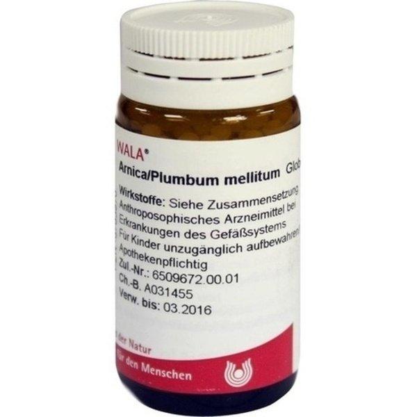 ARNICA/PLUMBUM /Mellitum Globuli 20 g