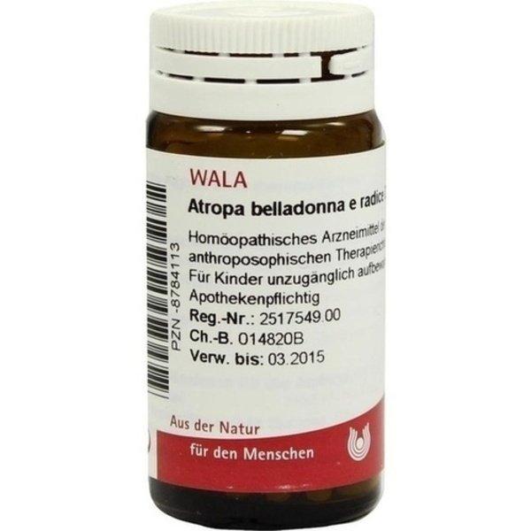 ATROPA BELLADONNA e Radix D 20 Globuli 20 g
