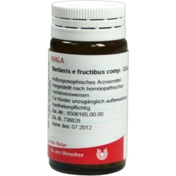 BERBERIS E fructibus comp.Globuli 20 g