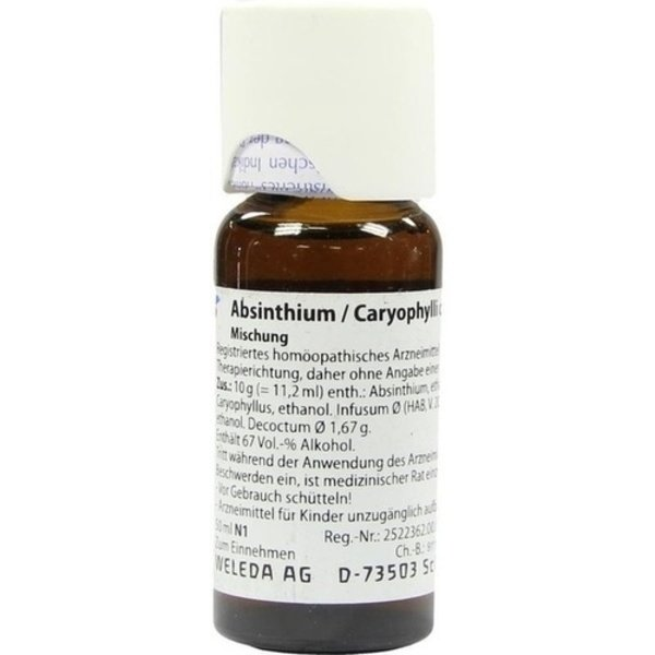 ABSINTHIUM/CARYOPHYLLI comp.Dilution 50 ml