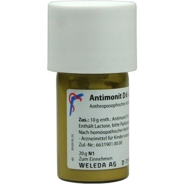 ANTIMONIT D 6 Trituration 20 g
