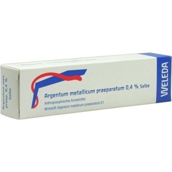 ARGENTUM METALLICUM PRAEPARATUM 0,4% Salbe 25 g