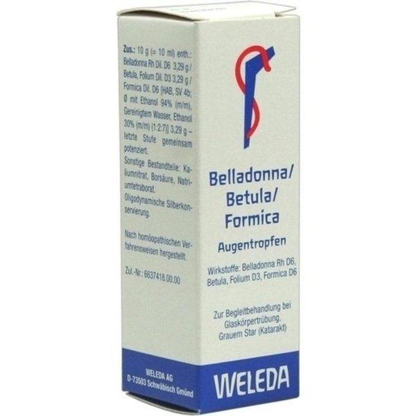 BELLADONNA/BETULA/FORMICA Augentropfen 10 ml