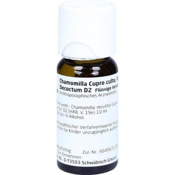CHAMOMILLA CUPRO culta Radix D 2 Dilution 50 ml
