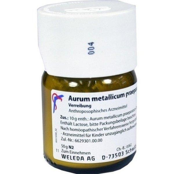 AURUM METALLICUM PRAEPARATUM D 6 Trituration 50 g