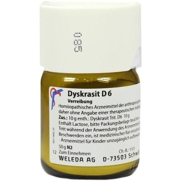 DYSKRASIT D 6 Trituration 50 g