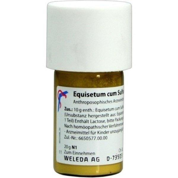 EQUISETUM CUM Sulfure tostum D 6 Trituration 20 g
