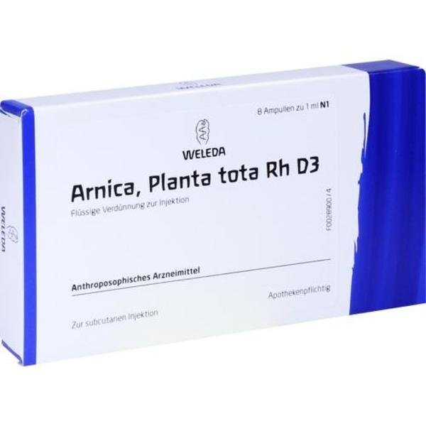 ARNICA PLANTA tota Rh D 3 Ampullen 8X1 ml