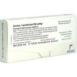 ARNICA/LEVISTICUM D 6 comp.Ampullen 8X1 ml