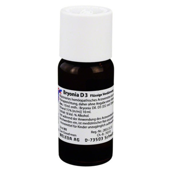 BRYONIA D 3 Dilution 50 ml