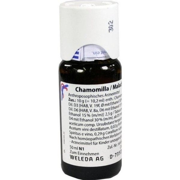 CHAMOMILLA/MALACHIT comp.Dilution 50 ml