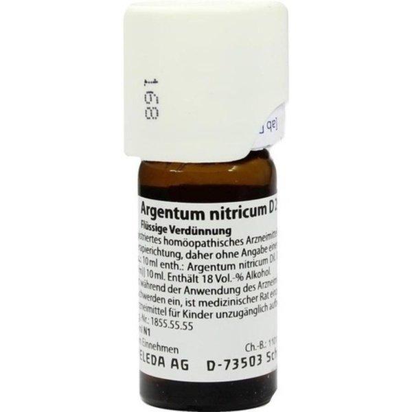 ARGENTUM NITRICUM D 20 Dilution 20 ml