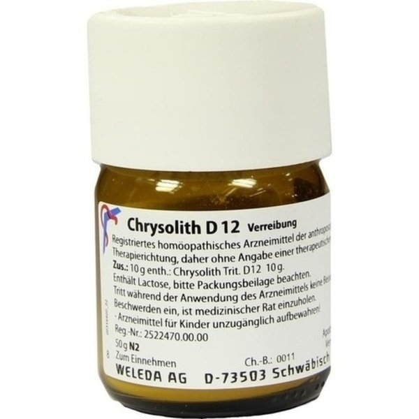 CHRYSOLITH D 12 Trituration 50 g
