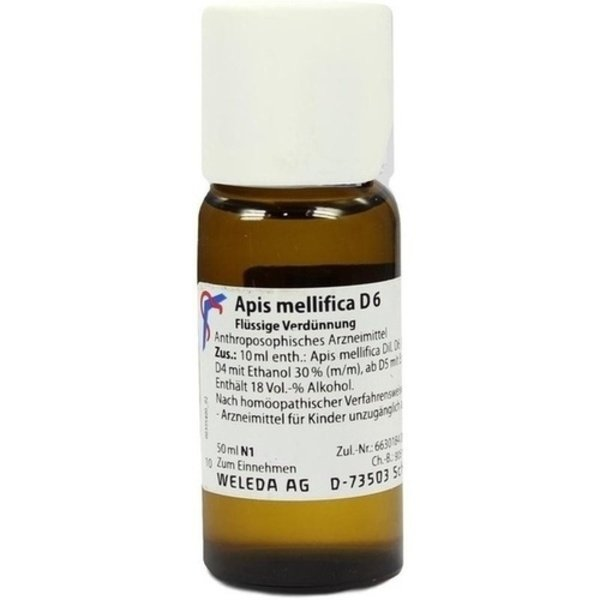 APIS MELLIFICA D 6 Dilution 50 ml