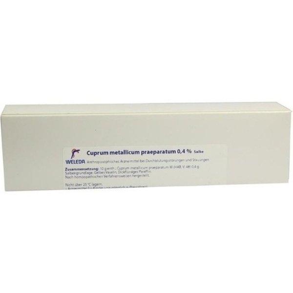 CUPRUM METALLICUM praep.0,4% Salbe 65 g