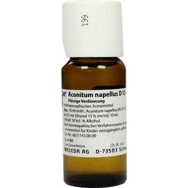 ACONITUM NAPELLUS D 12 Dilution 50 ml