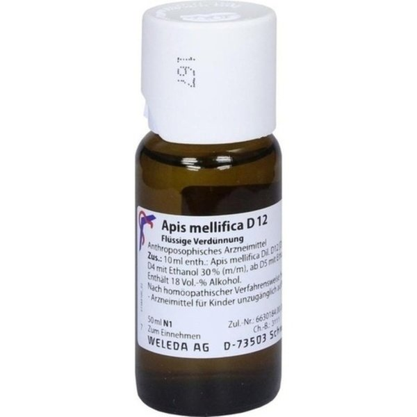APIS MELLIFICA D 12 Dilution 50 ml
