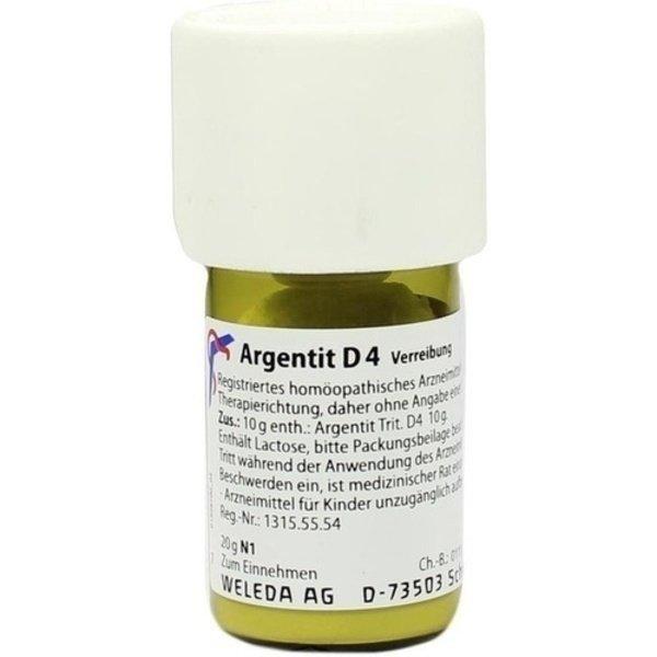 ARGENTIT D 4 Trituration 20 g