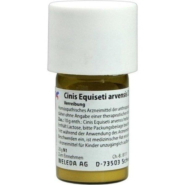 CINIS EQUISETI arvensis D 6 Trituration 20 g