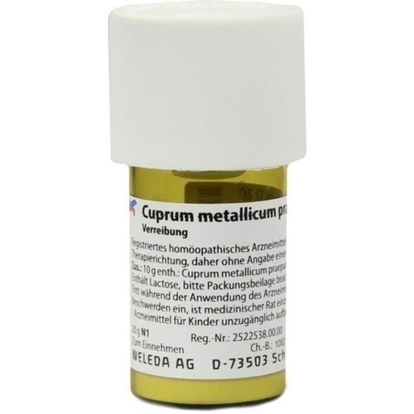 CUPRUM METALLICUM praep.D 20 Trituration 20 g