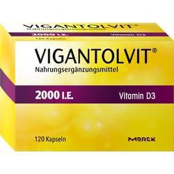 VIGANTOLVIT 2.000 I.E. Vitamin D3 Weichkapseln 120 St