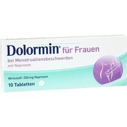 DOLORMIN für Frauen Tabletten 10 St
