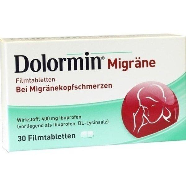 DOLORMIN Migräne Filmtabletten 30 St