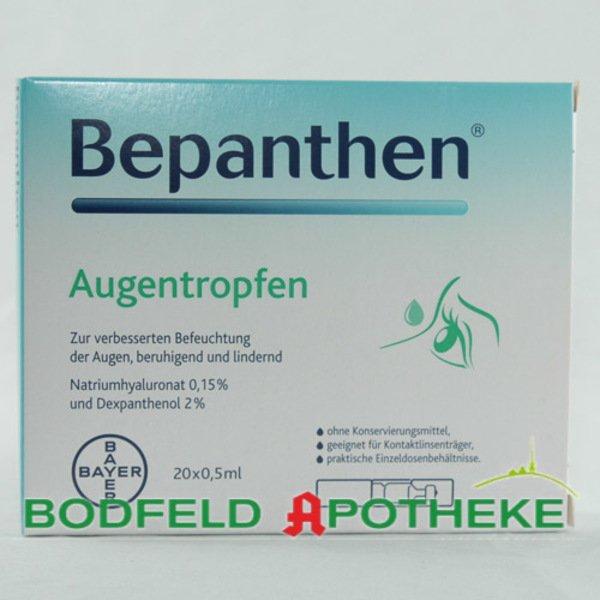 BEPANTHEN Augentropfen 20X0.5 ml