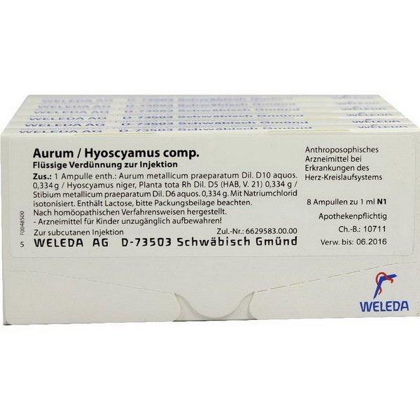 AURUM HYOSCYAMUS COMP 48x1 ML