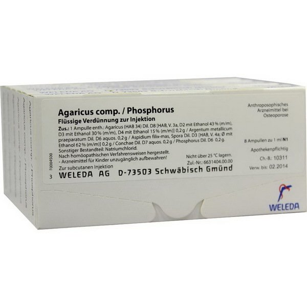 AGARICUS COMP/PHOSPH 48x1 ML