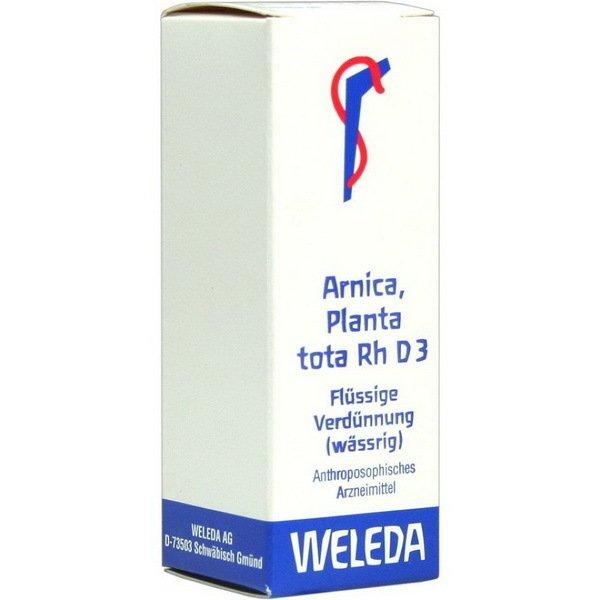 ARNICA PLANTA TOTA RH D 3 20 ML