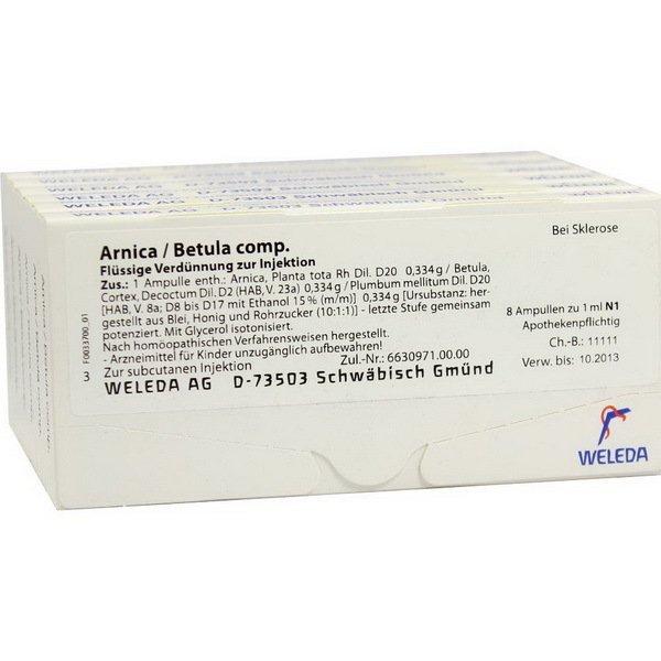 ARNICA BETULA COMP 48x1 ML