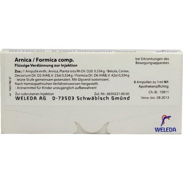 ARNICA FORMICA COMP 8x1 ML