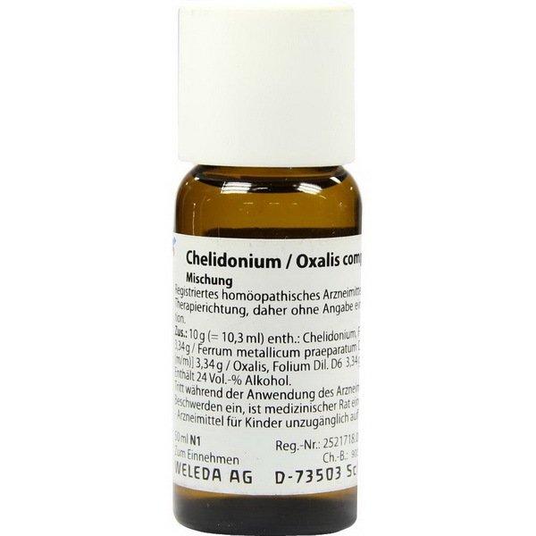 CHELIDONIUM OXALIS COMP 50 ML